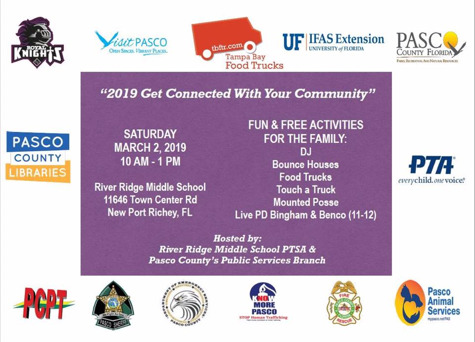 3 2 19: RRMS & Pasco County's Connect with Community Event